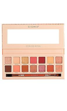 PALETTE D'OMBRES À PAUPIÈRES COR-DE-ROSA Sigma Beauty $49 BEST SELLER