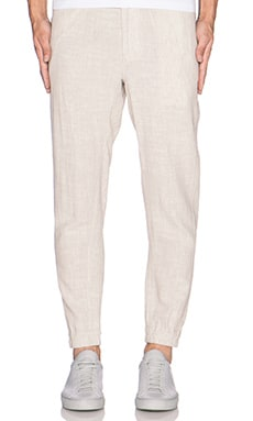 Shades of Grey by Micah Cohen Jogger in Oat Linen Chambray