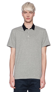 Shades of Grey by Micah Cohen Polo in Heather Grey