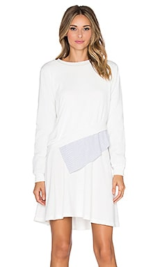 Shades of Grey by Micah Cohen Multi Layer Dress in White