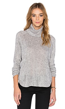 Shades of Grey by Micah Cohen Turtleneck in Heather Grey
