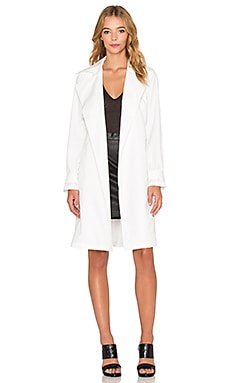 Trench Coat in White