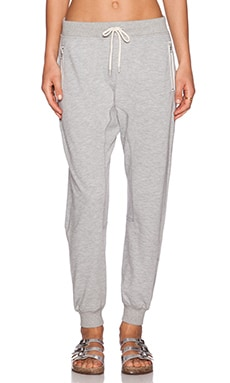 Shades of Grey by Micah Cohen Drop Crotch Sweatpant in Heather Grey