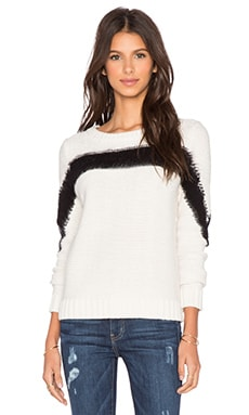 SHAE Suzy Sweater in Off White Combo
