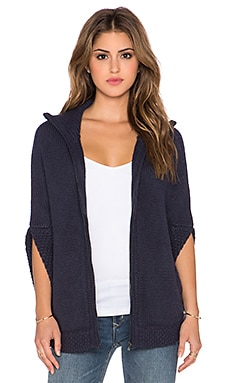 SHAE Bailey Poncho in Midnight Oil