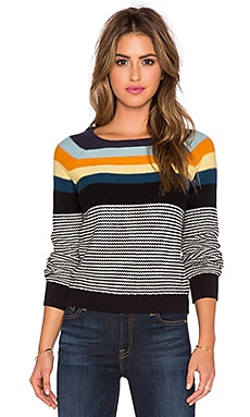 SHAE Sloan Sweater in Multi Combo