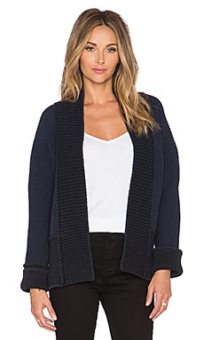 SHAE Saturday Cardigan in Navy