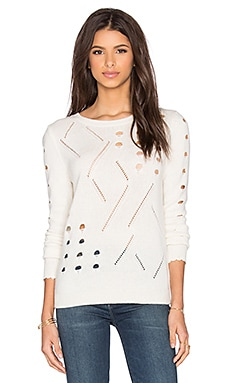 SHAE Sophie Sweater in Off White