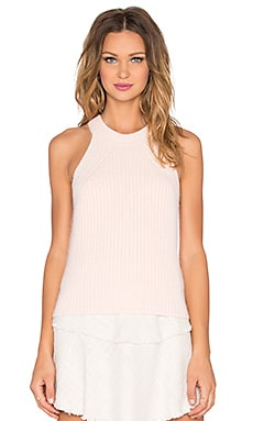SHAE Laney Sleeveless Tank in Pink Salt