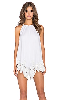 Shakuhachi Perfect Picnic Romper in White