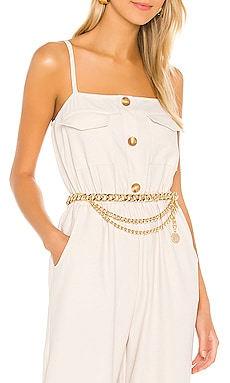 Classic Layered Coin Belt SHASHI $68