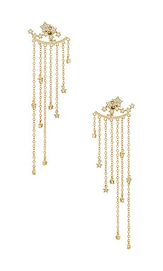 Star Cluster Earrings SHASHI $62 NEW ARRIVAL