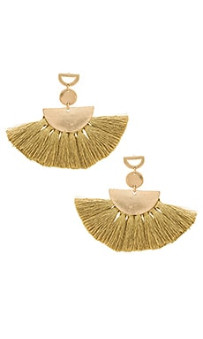 Ava Tassel Earrings SHASHI $40