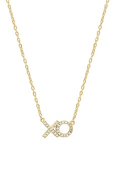 XO Pave Necklace SHASHI $44