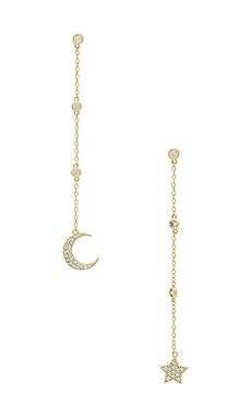 Luna Drop Earrings SHASHI $57