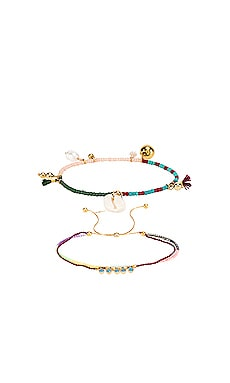 Sealu and Peri Bracelet Set SHASHI $55