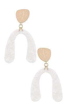 Enya Drop Earrings SHASHI $44