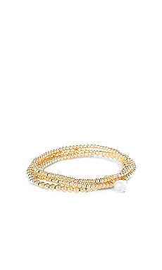 Empress Pearl Bracelet Set SHASHI $42