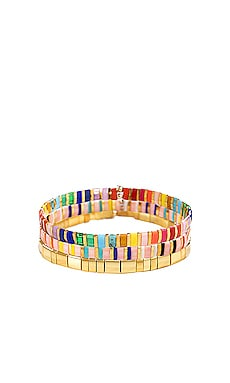 Tilu Bracelet Set SHASHI $68 BEST SELLER