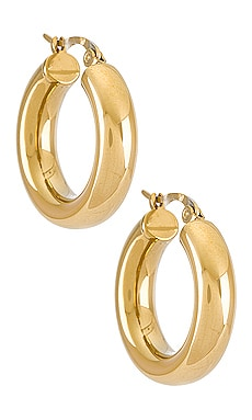 Dominique Hoop Earring SHASHI $45