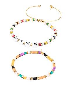 Mama Bracelet Set of 2 SHASHI $55
