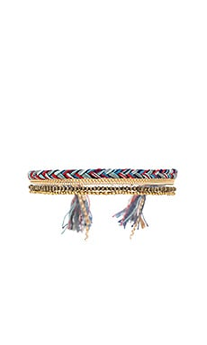 Maya Bracelet in Orange & Blue