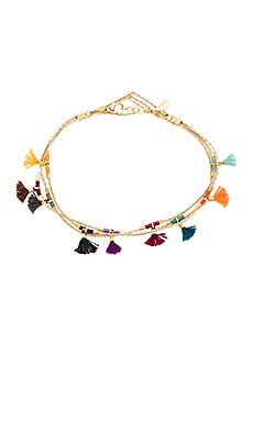 SHASHI Olivia Bracelet in Yellow Gold