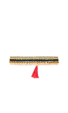 Jane Stretch Bracelet in Coral