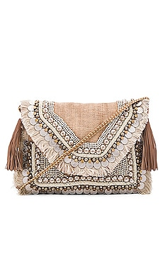 Leela Clutch en Naturel