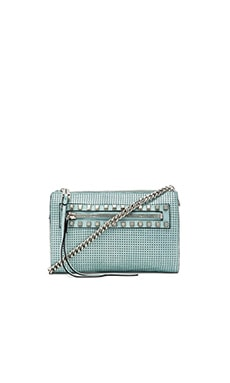 she + lo Make Your Mark Mini Crossbody in Mint Perf