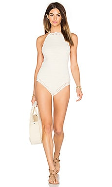 Hira One Piece Swimsuit in Natural