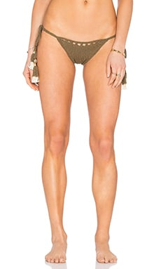 Laharia Tie Side Bottom in Khaki