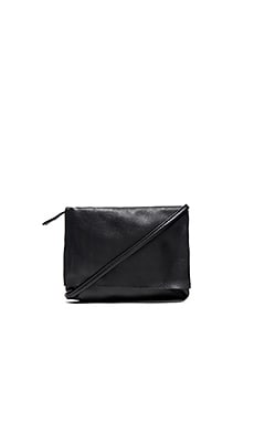 Shaffer The Brie Crossbody in Black Nero