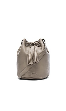 Shaffer The Greta Medium Bucket Bag in Cement