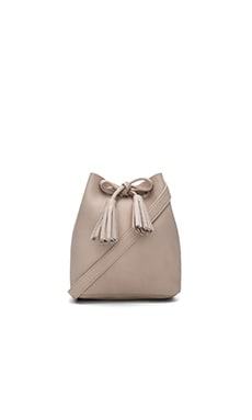 Greta Bucket Bag in Avorio