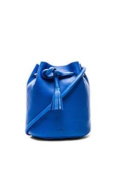 Shaffer The Dana Bucket Bag in Cobalt
