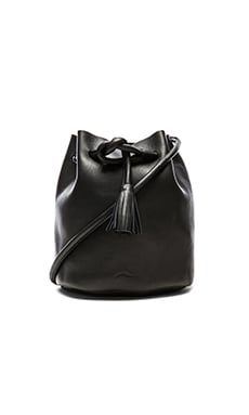 Shaffer The Dana Bucket Bag in Black
