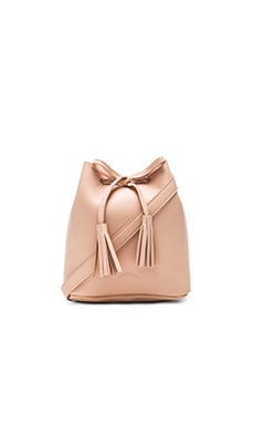 The Greta Bucket Bag in Blush