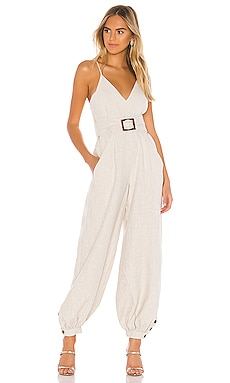 St. Martin Harem Jumpsuit with Belt Shona Joy $320