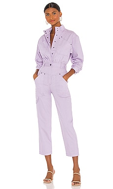 Chiara Long Sleeve Boiler Suit Shona Joy $385