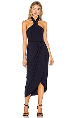 Knot Draped Dress