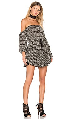 Danglars Off The Shoulder Mini Dress