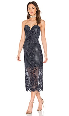 Bustier Midi Dress