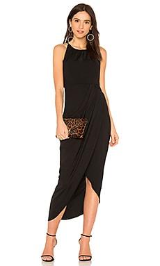 High Neck Ruched Dress Shona Joy $279