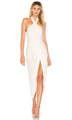 Knot Draped Dress Shona Joy $279