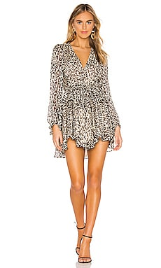 Mariposa Drawstring Mini Dress Shona Joy $295 BEST SELLER