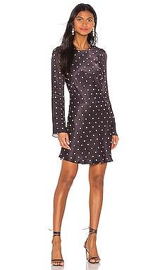 O'dell Long Sleeve Bias Mini Dress Shona Joy $89