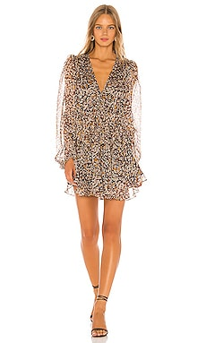 Garner Drawstring Mini Dress Shona Joy $295