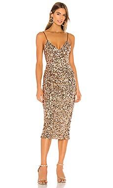 Faye Cocktail Midi Dress Shona Joy $320