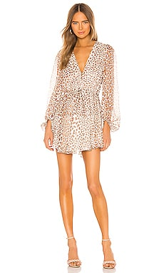 Ghetty Balloon Sleeve Mini Dress Shona Joy $335